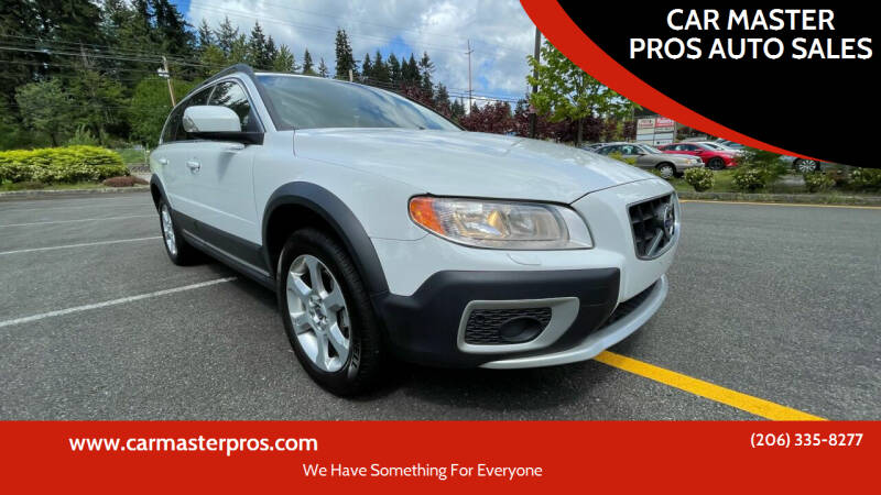 2010 Volvo XC70 for sale at CAR MASTER PROS AUTO SALES in Lynnwood WA