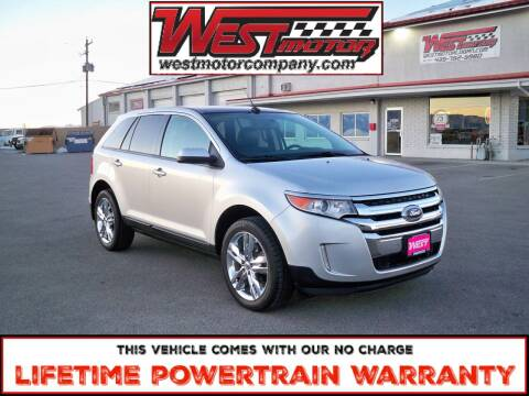 2014 Ford Edge for sale at West Motor Company in Preston ID