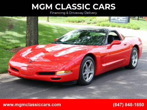 1998 Chevrolet Corvette for sale at MGM CLASSIC CARS-New Arrivals in Addison IL