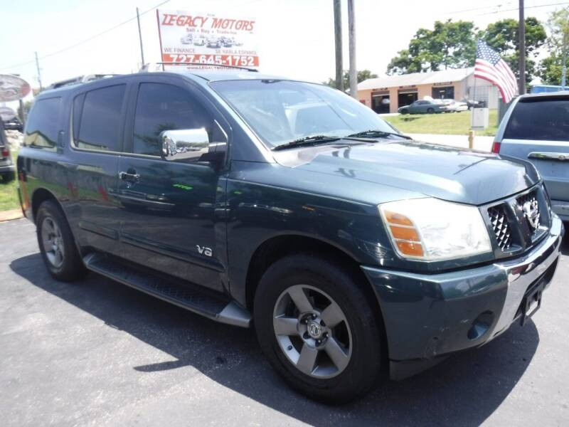 2005 Nissan Armada for sale at LEGACY MOTORS INC in New Port Richey FL