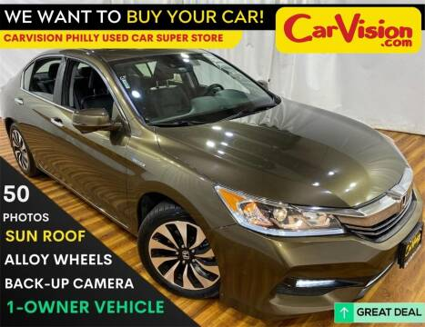 2017 Honda Accord Hybrid for sale at Car Vision Mitsubishi Norristown - Car Vision Philly Used Car SuperStore in Philadelphia PA