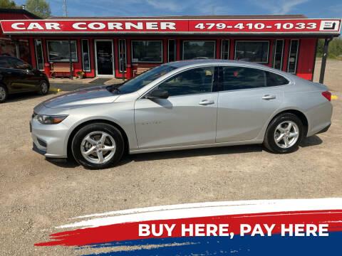 2018 Chevrolet Malibu for sale at CAR CORNER in Van Buren AR