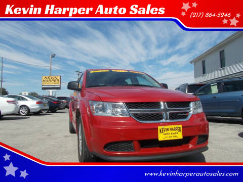 2014 Dodge Journey for sale at Kevin Harper Auto Sales in Mount Zion IL