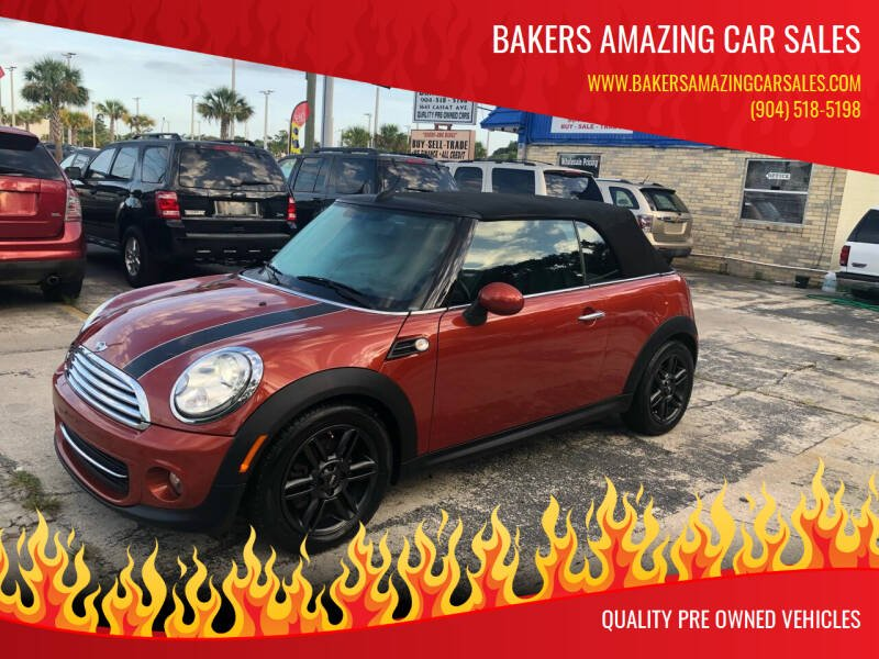 2011 MINI Cooper for sale at Bakers Amazing Car Sales in Jacksonville FL
