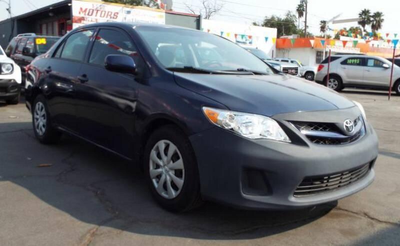 2012 Toyota Corolla for sale at 559 Motors in Fresno CA