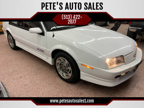 1995 Chevrolet Beretta for sale at PETE'S AUTO SALES LLC - Middletown in Middletown OH