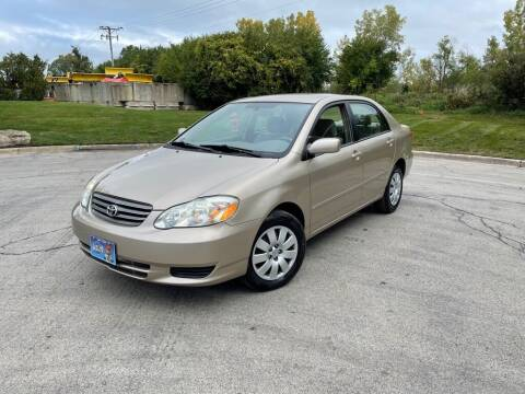 2004 Toyota Corolla for sale at 5K Autos LLC in Roselle IL