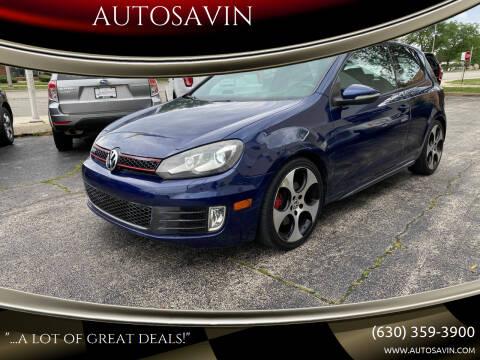 2010 Volkswagen GTI for sale at AUTOSAVIN in Elmhurst IL