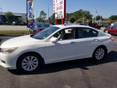 2013 Honda Accord for sale at 1st Choice Auto Sales in Newport News VA