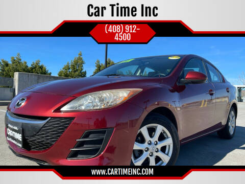 2010 Mazda MAZDA3 for sale at Car Time Inc in San Jose CA