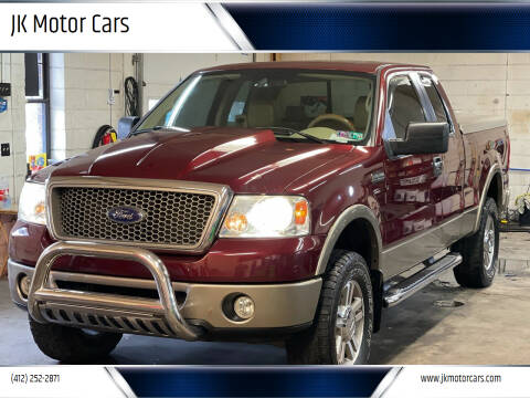 2006 Ford F-150 for sale at JK Motor Cars in Pittsburgh PA