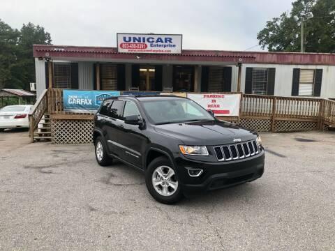 2016 Jeep Grand Cherokee for sale at Unicar Enterprise in Lexington SC