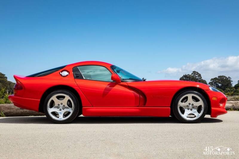 2000 Dodge Viper for sale at 415 Motorsports in San Rafael CA