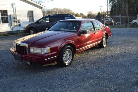 1990 Lincoln Mark VII for sale at Victory Auto Sales in Randleman NC