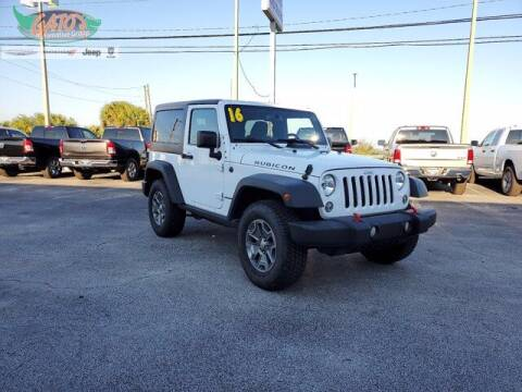 2016 Jeep Wrangler for sale at GATOR'S IMPORT SUPERSTORE in Melbourne FL