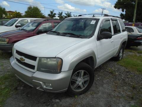 2007 Chevrolet TrailBlazer for sale at Bargain Auto Mart Inc. in Kenneth City FL