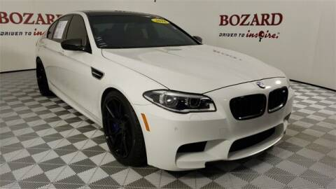 2016 BMW M5 for sale at BOZARD FORD in Saint Augustine FL