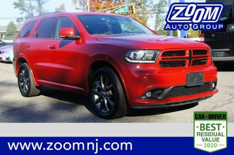 2018 Dodge Durango for sale at Zoom Auto Group in Parsippany NJ