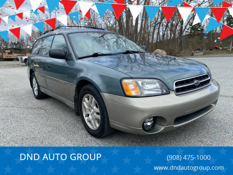 2002 Subaru Outback for sale at DND AUTO GROUP in Belvidere NJ