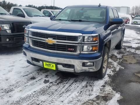 2015 Chevrolet Silverado 1500 for sale at Jeff's Sales & Service in Presque Isle ME