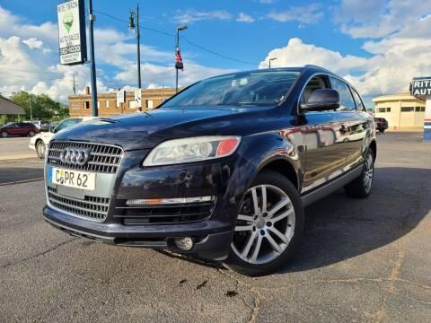 2008 Audi Q7 for sale at Rite Track Auto Sales in Detroit MI