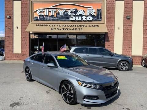2019 Honda Accord for sale at CITY CAR AUTO INC in Nashville TN