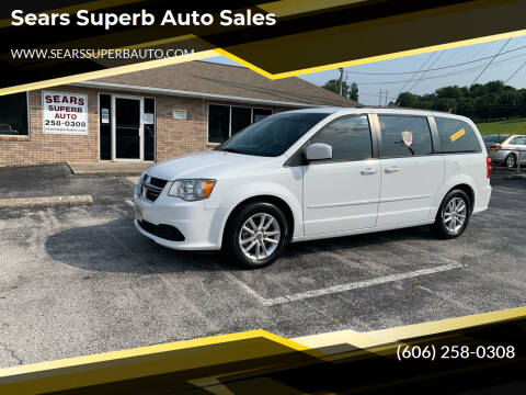 2016 Dodge Grand Caravan for sale at Sears Superb Auto Sales in Corbin KY