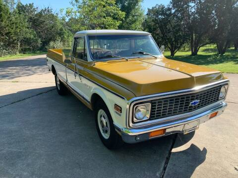 1971 Chevrolet C/K 20 Series for sale at TROPHY MOTORS in New Braunfels TX