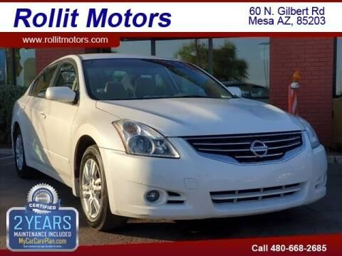 2012 Nissan Altima for sale at Rollit Motors in Mesa AZ