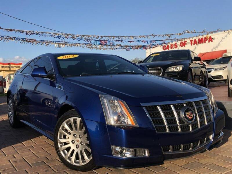 2012 Cadillac CTS for sale at Cars of Tampa in Tampa FL