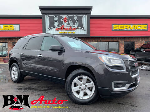 2016 GMC Acadia for sale at B & M Auto Sales Inc. in Oak Forest IL