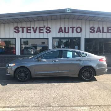 2014 Ford Fusion for sale at STEVE'S AUTO SALES INC in Scottsbluff NE