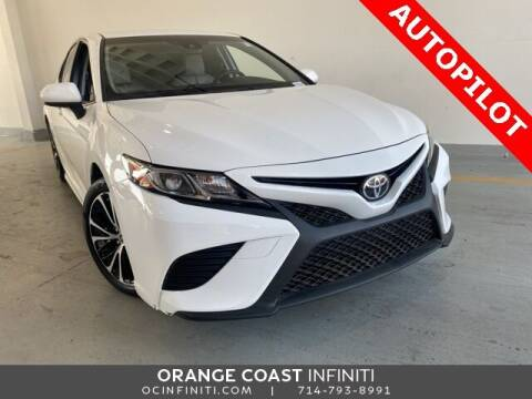 2018 Toyota Camry for sale at ORANGE COAST CARS in Westminster CA