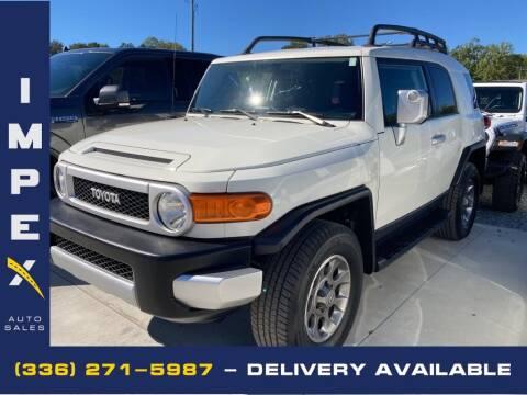 2011 Toyota FJ Cruiser for sale at Impex Auto Sales in Greensboro NC