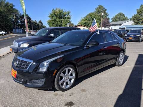 2013 Cadillac ATS for sale at Progressive Auto Sales in Twin Falls ID