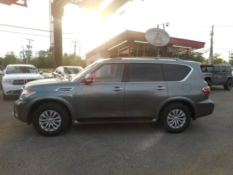 2017 Nissan Armada for sale at The Carriage Company in Lancaster OH
