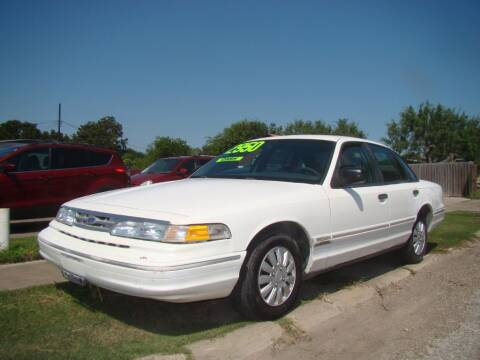 1996 Ford Crown Victoria for sale at Rocky's Auto Sales in Corpus Christi TX