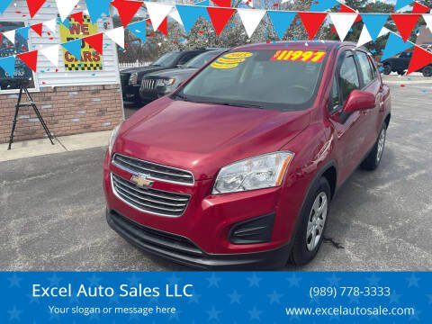 2015 Chevrolet Trax for sale at Excel Auto Sales LLC in Kawkawlin MI
