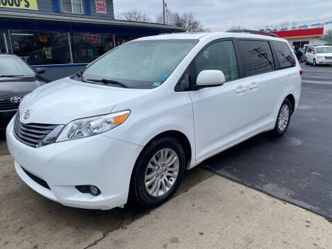 2012 Toyota Sienna for sale at Wise Investments Auto Sales in Sellersburg IN