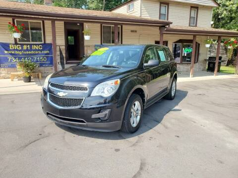 2011 Chevrolet Equinox for sale at BIG #1 INC in Brownstown MI