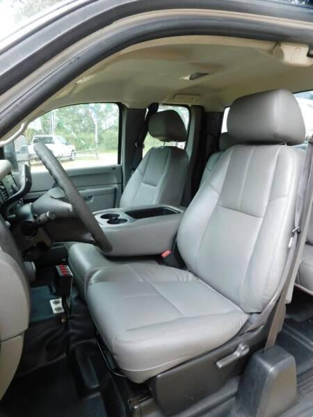 2011 Chevrolet Silverado 3500HD 4x2 Work Truck 4dr Extended Cab LB DRW - Ponchatoula LA