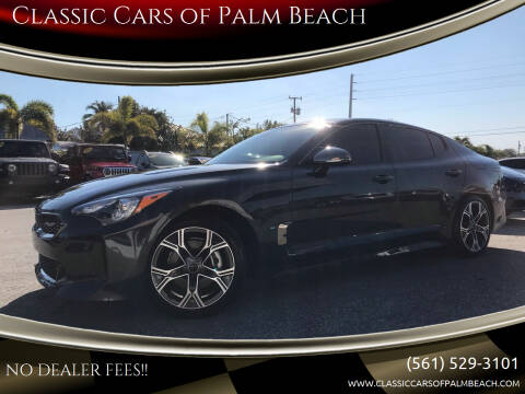 2020 Kia Stinger for sale at Classic Cars of Palm Beach in Jupiter FL