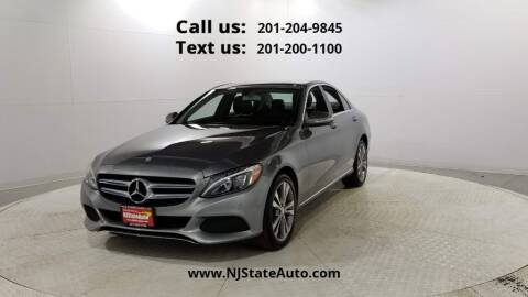 2015 Mercedes-Benz C-Class for sale at NJ State Auto Used Cars in Jersey City NJ