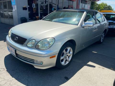 2004 Lexus GS 300 for sale at ALL CREDIT AUTO SALES in San Jose CA