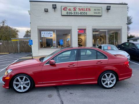 2013 Mercedes-Benz C-Class for sale at C & S SALES in Belton MO