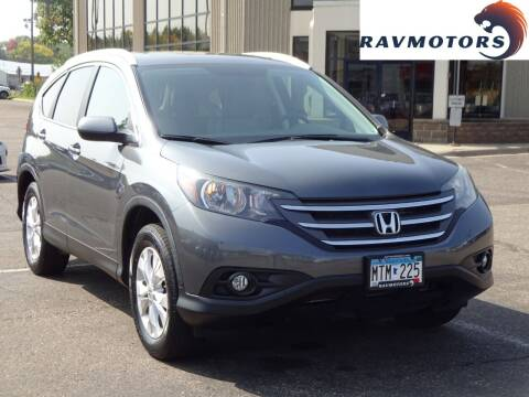 2013 Honda CR-V for sale at RAVMOTORS 2 in Crystal MN