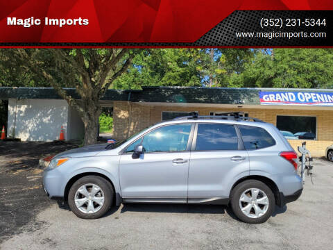 2015 Subaru Forester for sale at Magic Imports in Melrose FL