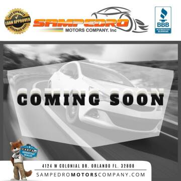 2006 Hyundai Tiburon for sale at SAMPEDRO MOTORS COMPANY INC in Orlando FL