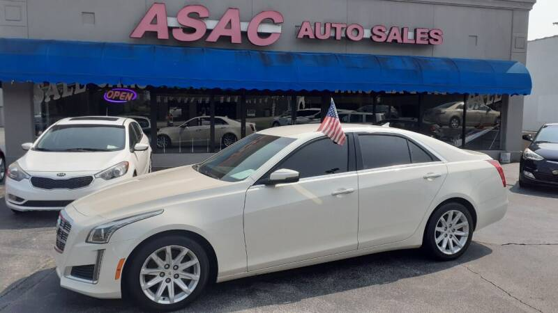 2014 Cadillac CTS for sale at ASAC Auto Sales in Clarksville TN