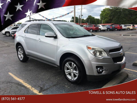2013 Chevrolet Equinox for sale at Towell & Sons Auto Sales in Manila AR